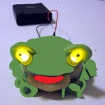 Play Dough LED Frog Picture